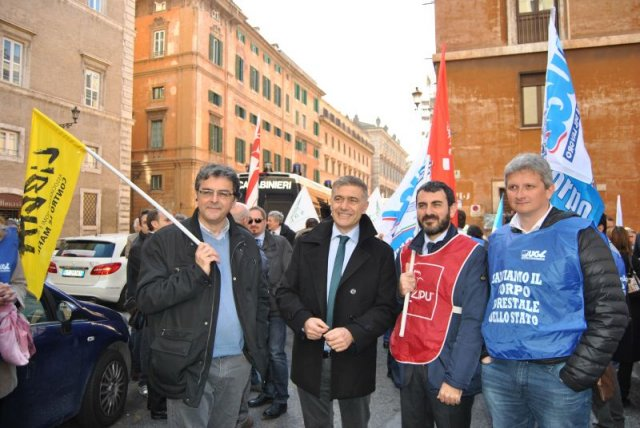 No all\'accorpamento del CFS